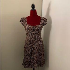 Leopard Pinup Dress